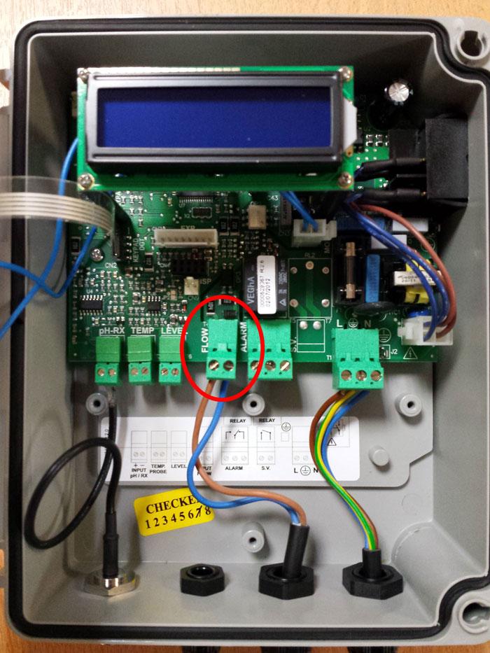 Je viens de brancher un r guateur de ph ez for Consommation electrique pompe piscine